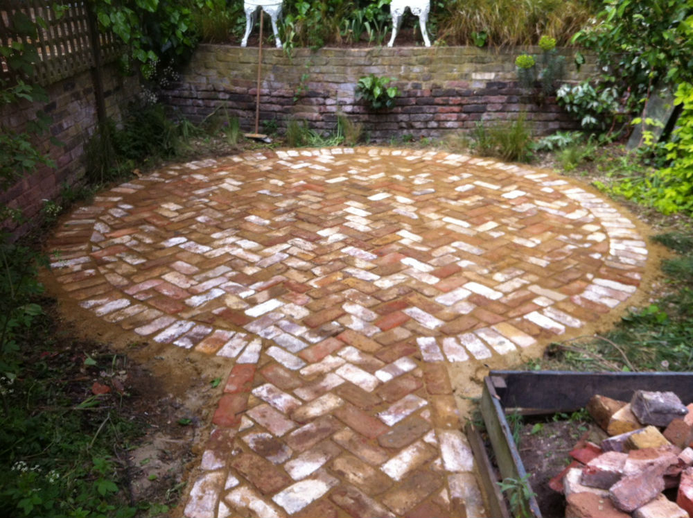 North London – Paving