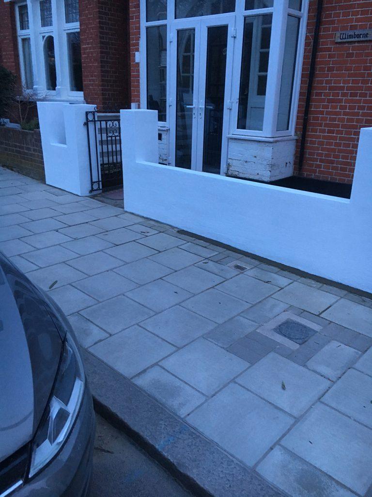 Ruskin Park – Front of house renovation